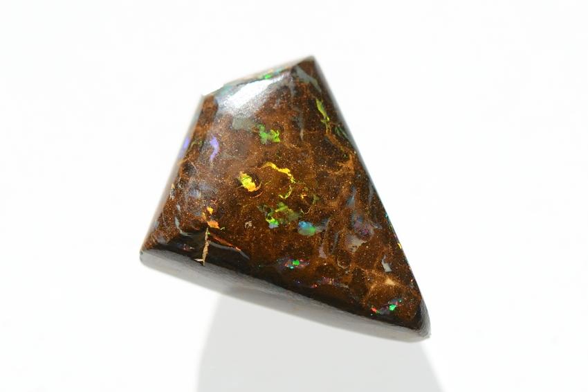 ボルダーオパール【22】天然石ルース・カボション(22×17.5mm)