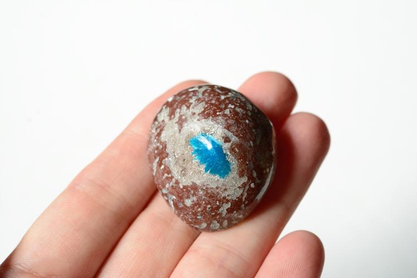 カバンサイト【2】天然石ルース・カボション (32×29mm)