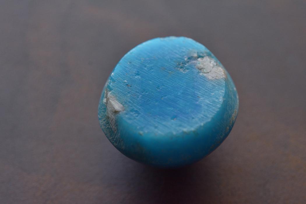 イラン産(ペルシャ)ターコイズ【36】天然石ルース・カボション(15×12mm)