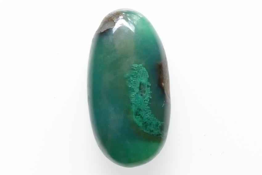 ジェムシリカ【20】天然石ルース・カボション(27×14mm)