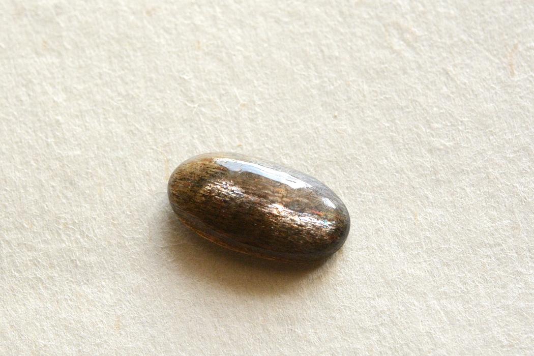 サンストーン【22】天然石ルース・カボション(23×24.5mm)