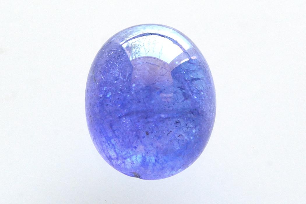 タンザナイト【7】天然石ルース・カボション(13.5×11mm)