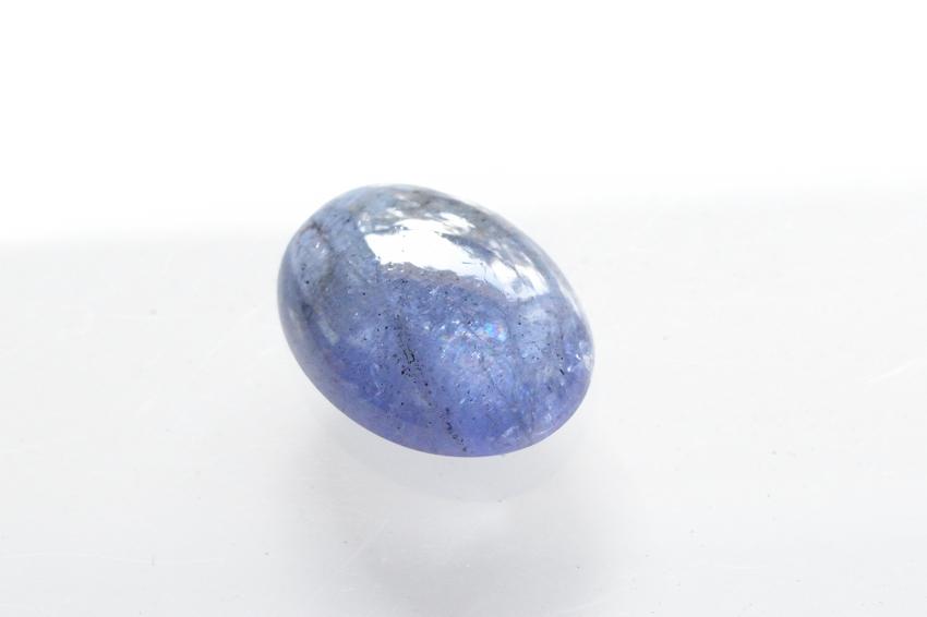 タンザナイト【12】天然石ルース・カボション(20×15.5mm)