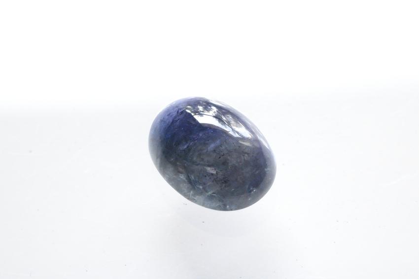 タンザナイト【16】天然石ルース・カボション(16×12mm)